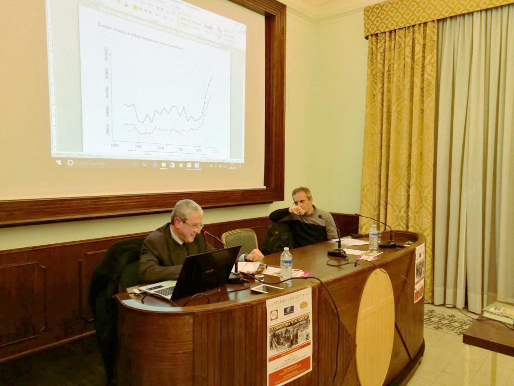 """Cattedra del dialogo ha avuto per tema la """"diaspora"""" calabrese"""