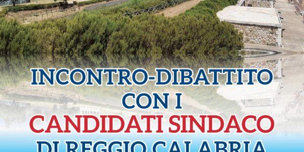 Incontro – Dibattito con i candidati a Sindaco di Reggio Calabria  – Mercoledì 2 Settembre 2020  –  Ore 19.00 – Ecolandia (Arghillà)